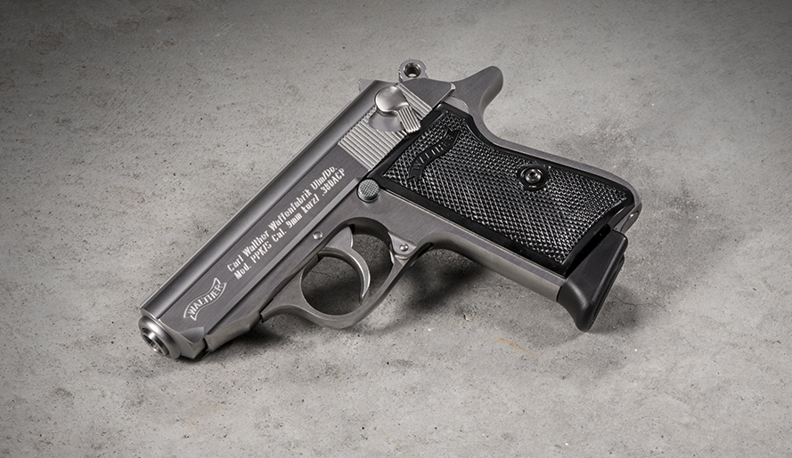 The Walther PPK/S in Stainless is a legendary icon.