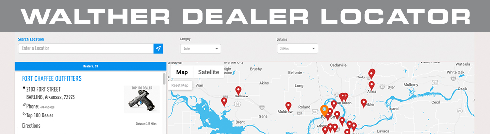 Walther Dealer Locator