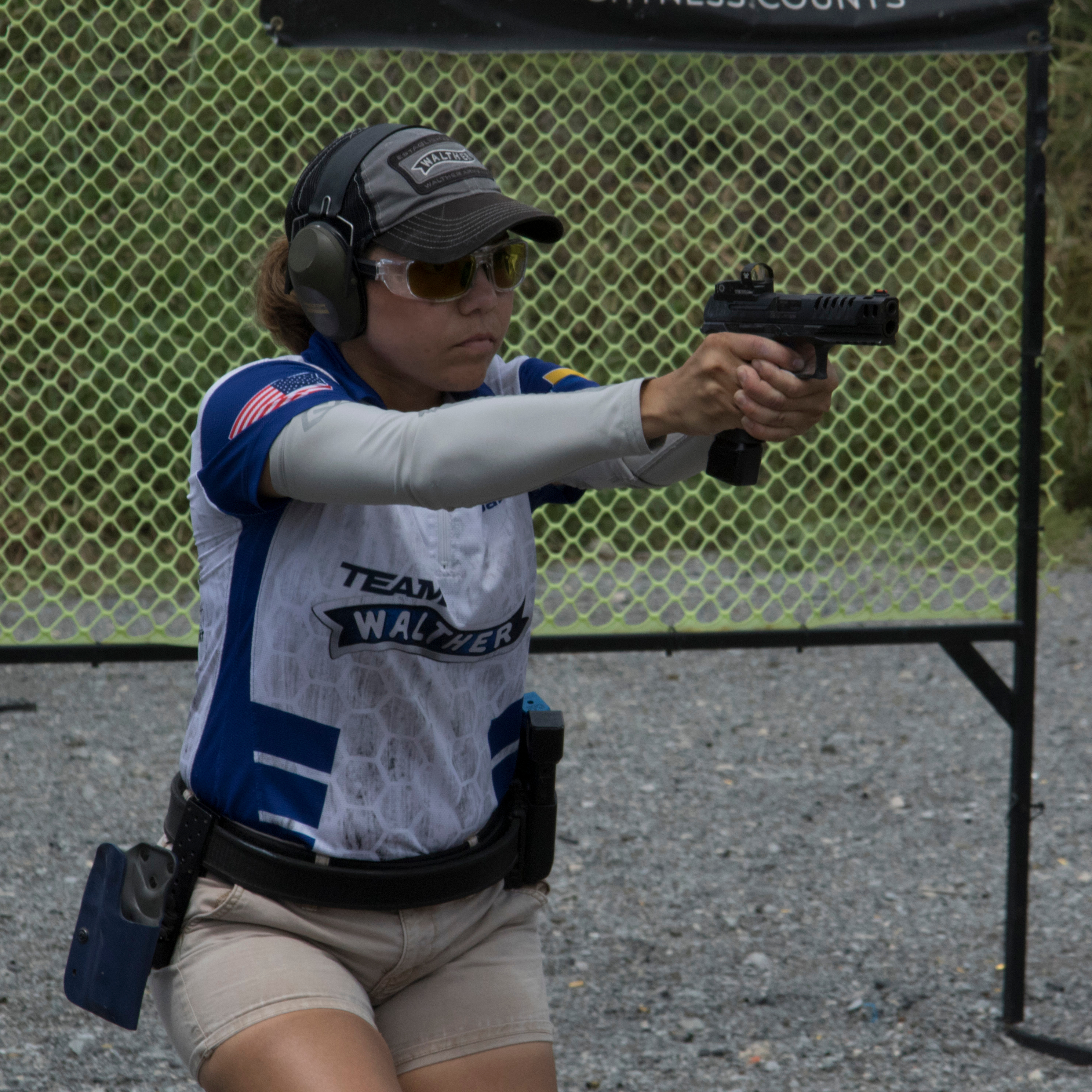 Walther Team Gabby Franco - Photo by Steve Loker